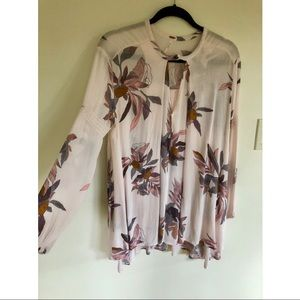 Light pink/floral free people tunic